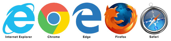 Browser icon images