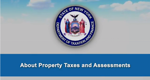 About property taxes and assessments YouTube video