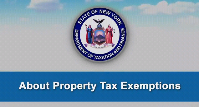 Property tax exemption YouTube video
