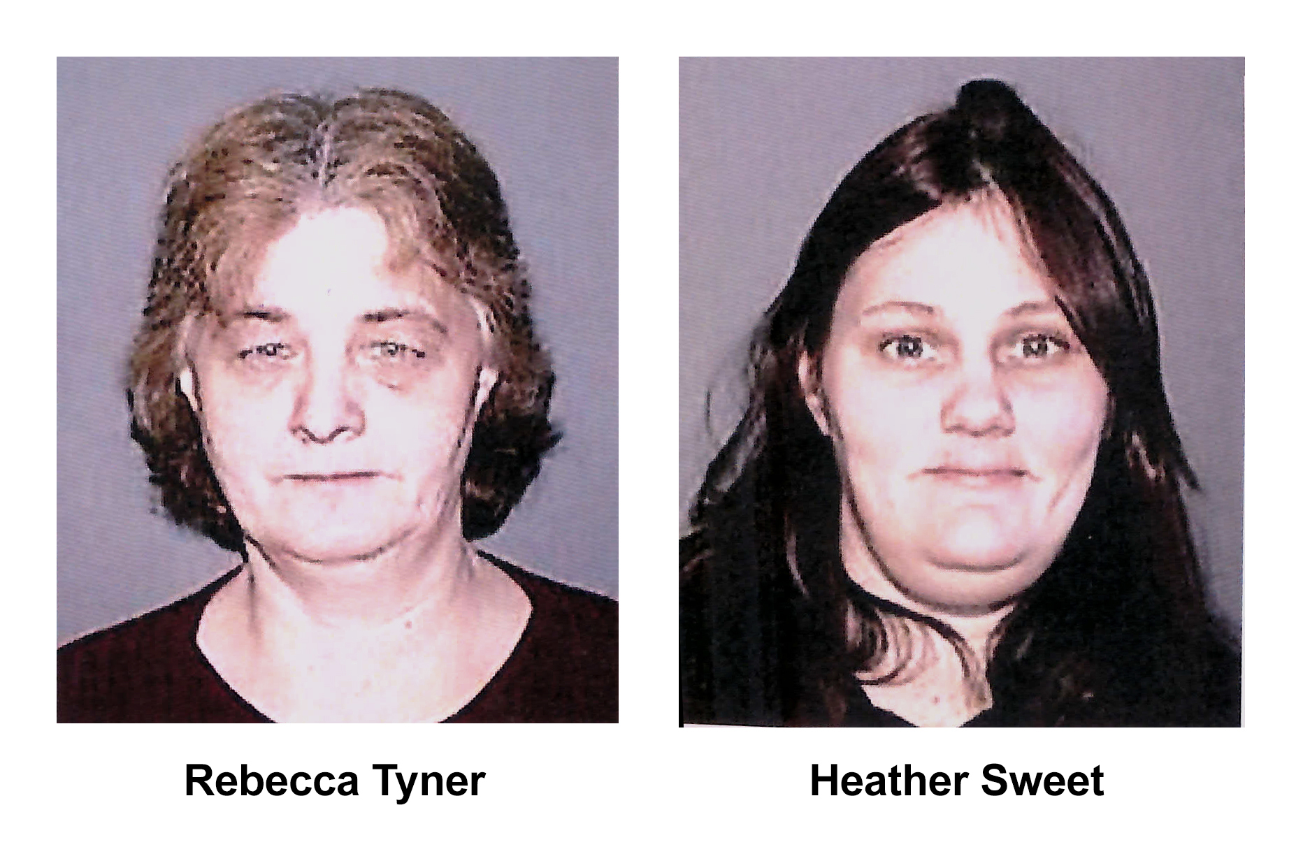 Photos of Rebecca Tyner and Heather Sweet