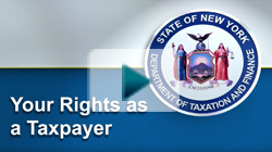 NYS Your Rights as a Taxpayer