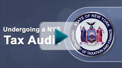 Undergoing a NYS audit