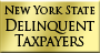 NYS Delinquent Taxpayers Logo